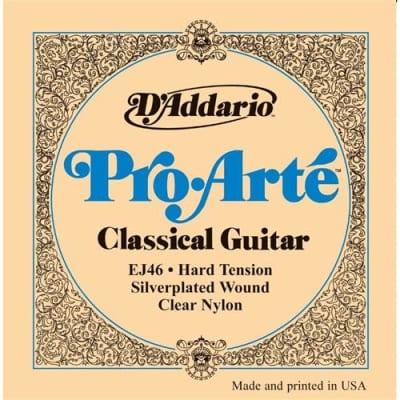 D'Addario EJ46 Pro-Arte Nylon Classical Guitar Strings - Hard Tension