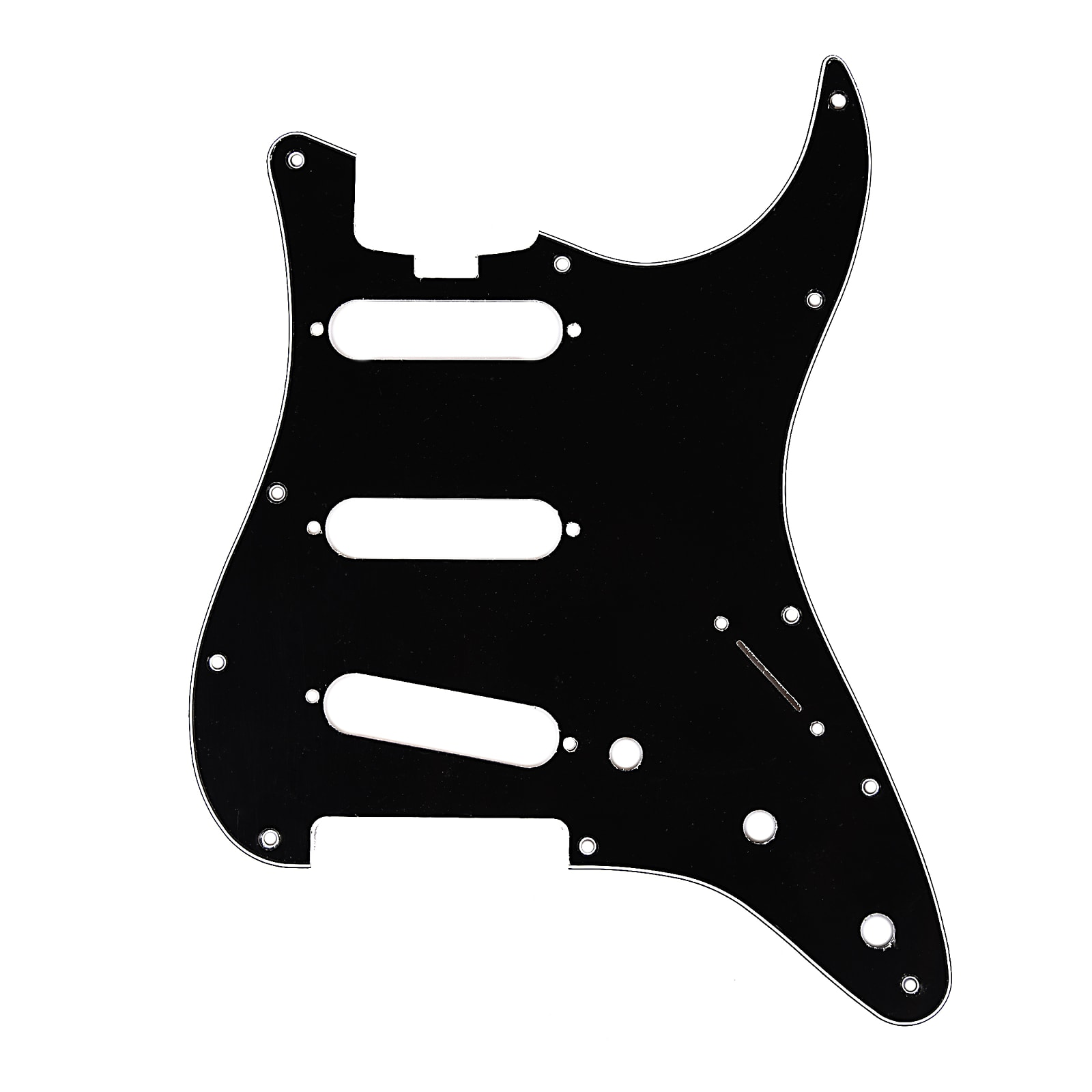 MINT GREEN 3-Ply NEW Pickguard Outline For Strat