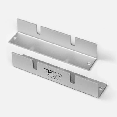 Tiptop Audio Z-Ears Racks Silver Rackmount Rail Pair