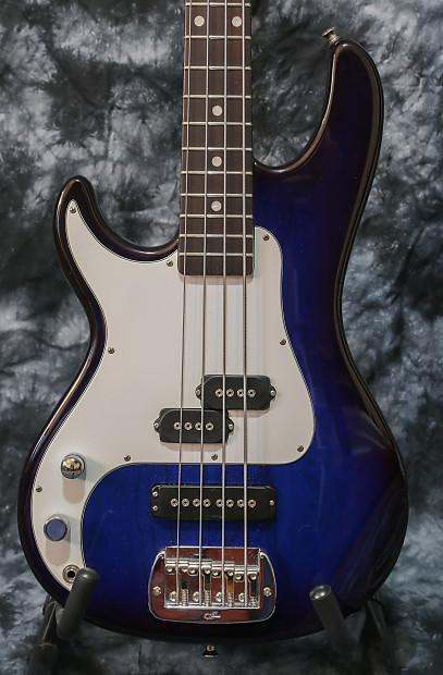 left handed g l sb 2 bass usa 2014 blueburst lefty reverb. Black Bedroom Furniture Sets. Home Design Ideas