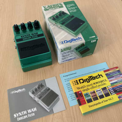Digitech Synth Wah Envelope Filter w/Box & Paperwork