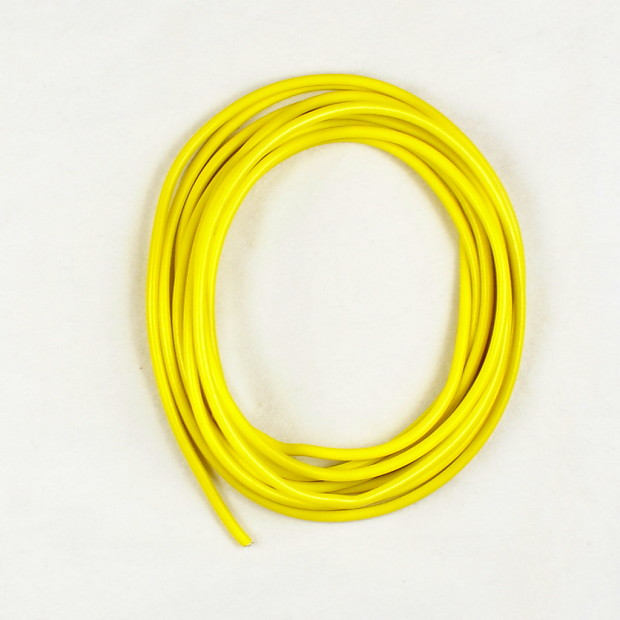 6-Foot Single conductor Shielded Guitar Circuit Wire ,Yellow | Reverb