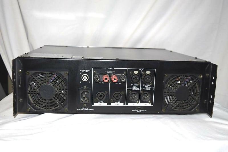 samson s1500 power amplifier 750w x2 stereo 4842 one reverb. Black Bedroom Furniture Sets. Home Design Ideas