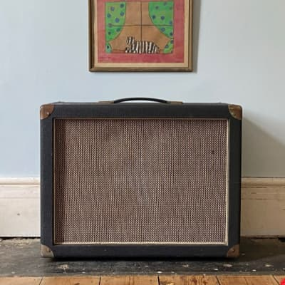 Simms watts  2x12 cabinet loaded with Celestion g12H creambacks - Pulsonic and R/C cones 1971 for sale