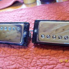 Gibson 1965 Pickups with all original hardware 1965 chrome / black Patent Decal PAF