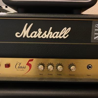 Marshall C5-H Class 5 5W Tube Guitar Head Black 2010s