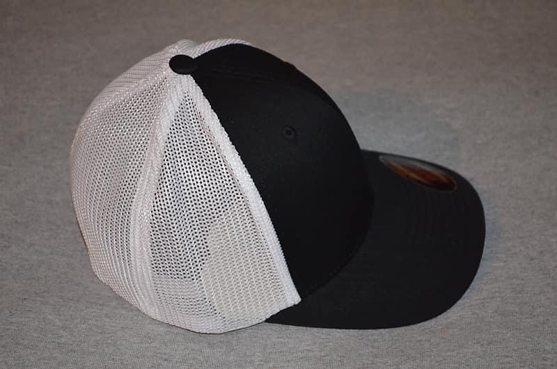 Garcia's Dire Wolf Logo -2018 Black/ White Flex Fit Trucker Hat