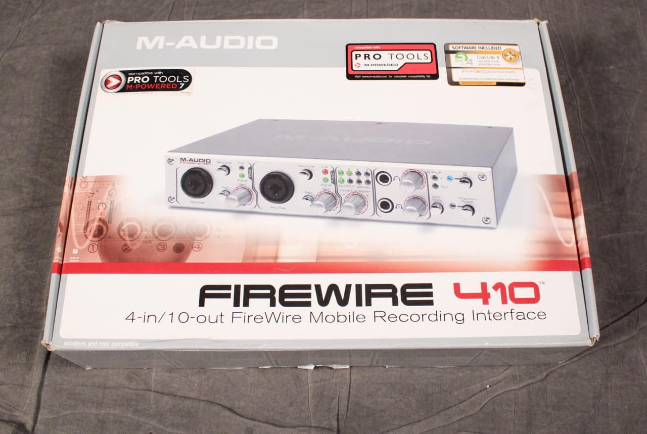 m audio firewire 410 interface reverb. Black Bedroom Furniture Sets. Home Design Ideas
