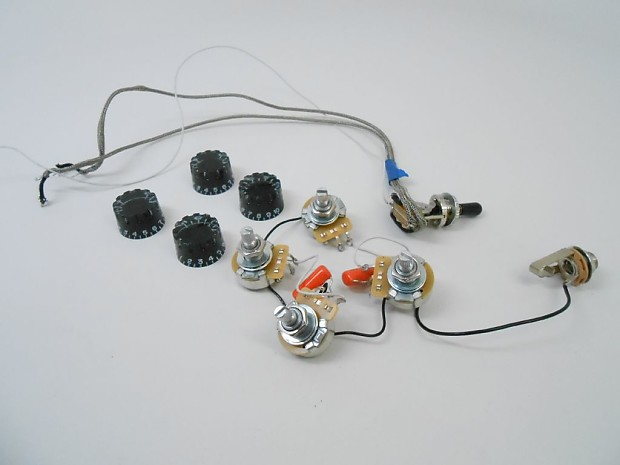 Gibson Les Paul Pots Wiring 3-Way Toggle P/U Switch Control Knobs 2015