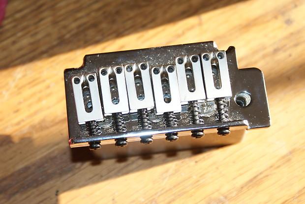 Squier Deluxe Bridge Chrome Stratconnection Reverb
