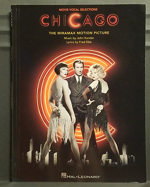 Chicago Kander & Ebb Movie Vocal Selections Songbook