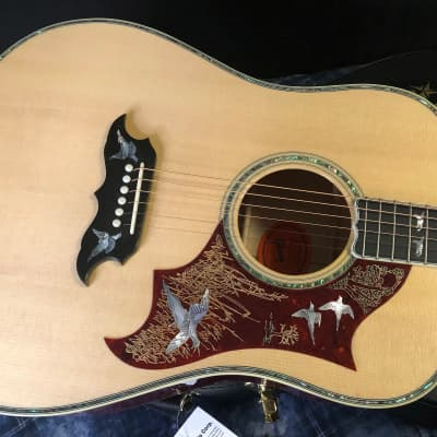 NEW! 2021 Gibson Custom Shop Dove - Doves In Flight - Authorized Dealer - Super RARE! Custom Case for sale