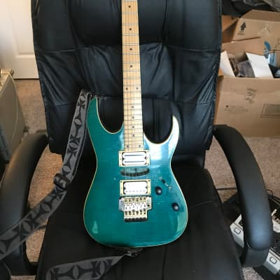 Ibanez EX Series Green tiger for sale