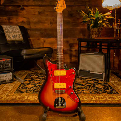 1992 Fender Jazzmaster '62 Reissue MIJ Japan Electric Guitar - Sunburst for sale