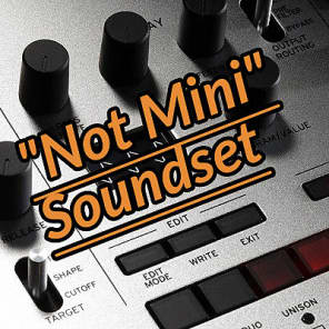 "Chronos Korg Minilogue ""Not Mini"" Soundset 70 Presets"