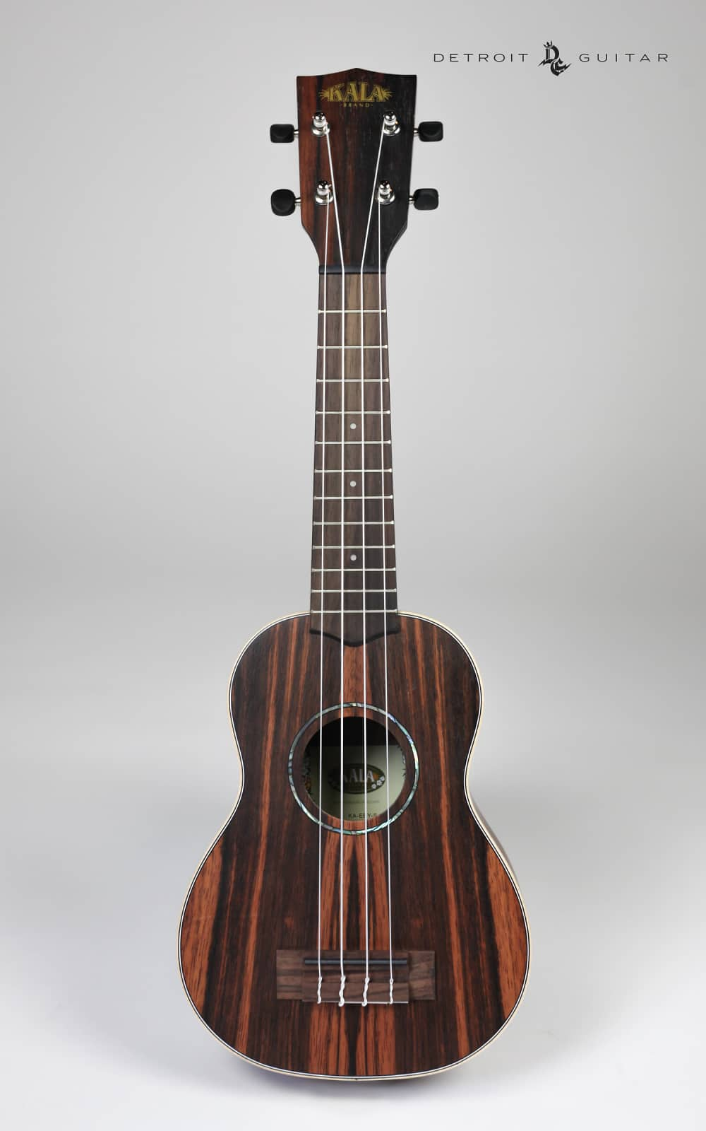 brand new kala ka eby s ebony soprano ukulele uke reverb. Black Bedroom Furniture Sets. Home Design Ideas