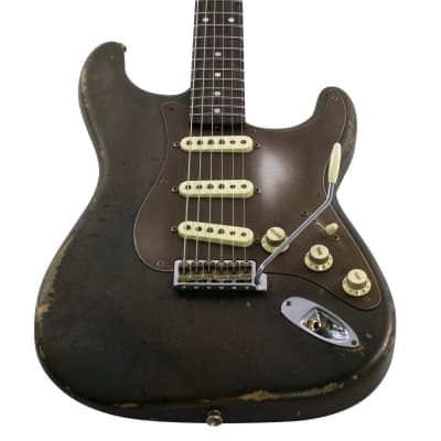 Fender Custom Shop Stratocaster, Masterbuilt by Dale Wilson, Ironwood, Relic, inkl. Koffer for sale
