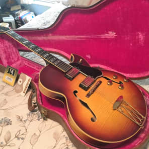 Gibson ES 350T 1960 sunburst for sale