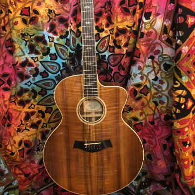 Taylor W65ce 2001 Flamed Walnut Acoustic Electric 12-String