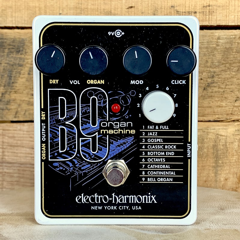 electro harmonix b9 organ machine ernie williamson music reverb. Black Bedroom Furniture Sets. Home Design Ideas