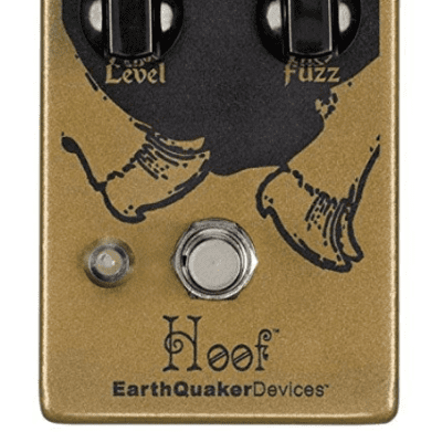 EARTHQUAKER DEVICES HOOF V2 GERMANIUM/SILICON FUZZ ($179 USD) for sale