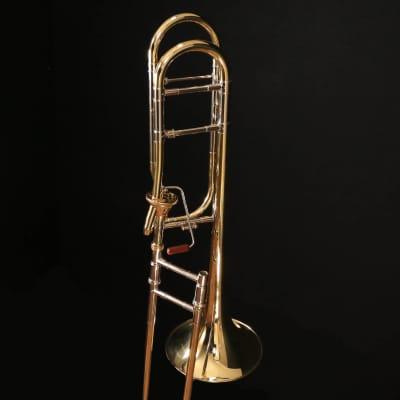 Bach 42AF Stradivarius Professional Tenor Trombone, Standard Finish S/N 216523