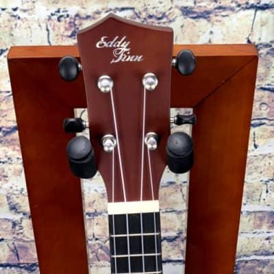 Eddy Finn EF-1-C Concert Ukulele  Mahogany for sale