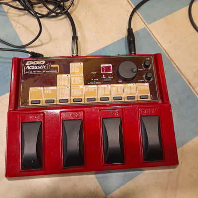 DOD Acoustic 1 Guitar Preamp FX Procesor Effect for sale
