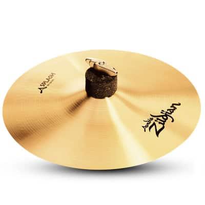 "Zildjian 10"" A Series Splash Drumset Cymbal with High Pitch & Bright Sound A0211"