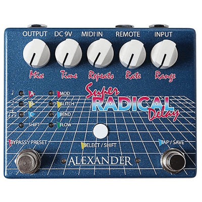 Alexander Super Radical Delay