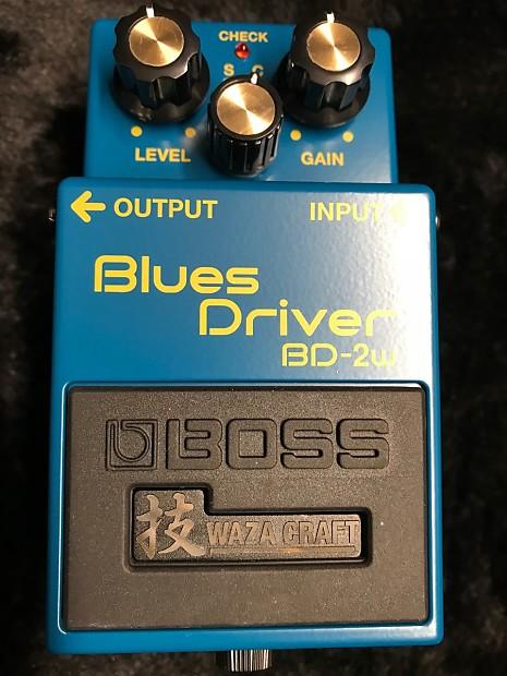 Boss BD-2W Blues Driver Waza Craft | Jeff's Music Werk's