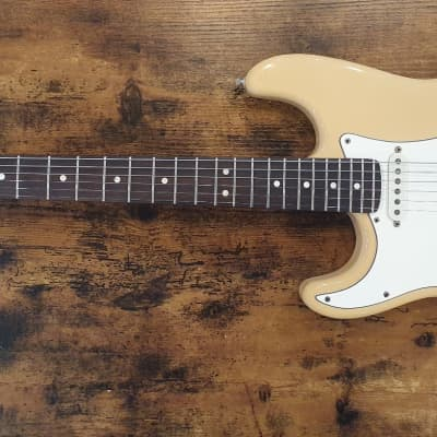 Fender  Stratocaster (American Standard, Left Handed) 1988 Olympic White for sale