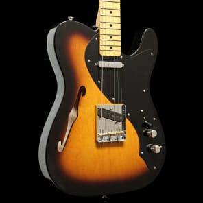 Fender Custom Shop 50s Telecaster Thinline Closet Classic Two Color Sunburst for sale