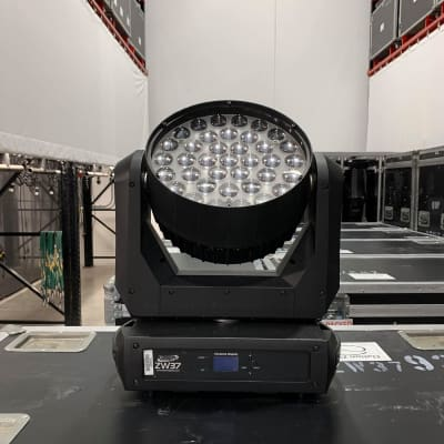 Elation ZW37 LED Wash RGBW Moving Light Lot of 2