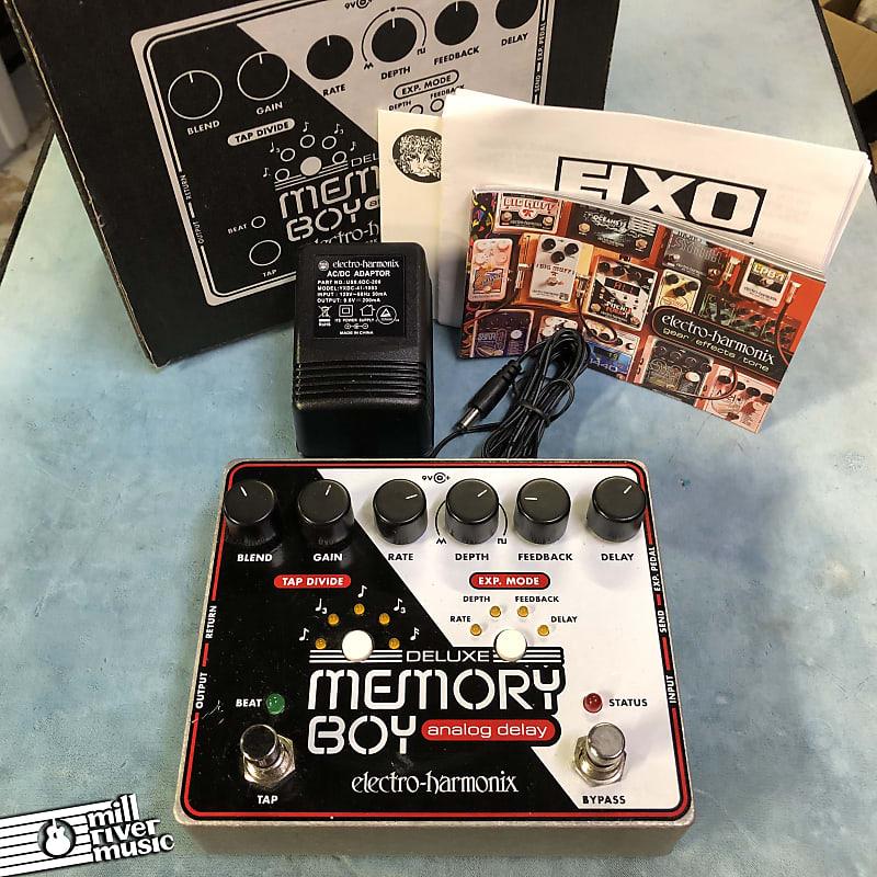 Electro-Harmonix EHX Deluxe Memory Boy Analog Delay Effects Pedal w/ Box