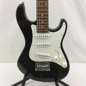 Dean Playmate Avalanche J 3/4 Size Electric Guitar Classic Black