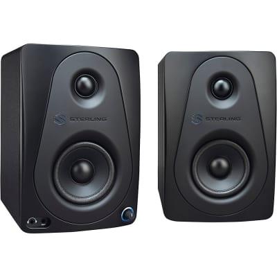 "Sterling Audio MX3 3"" Active Studio Monitor Pair, Black Regular"