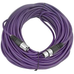 Seismic Audio SAXLX-100 XLR Male to XLR Female Mic Cable - 100'