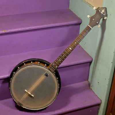 1920s Kay/Stromberg-Voisinet Resonator Tenor Banjo for sale