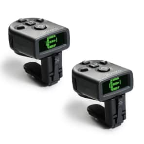 Planet Waves PW-CT-12TP NS Micro Clip-On Guitar Tuners (2-Pack)