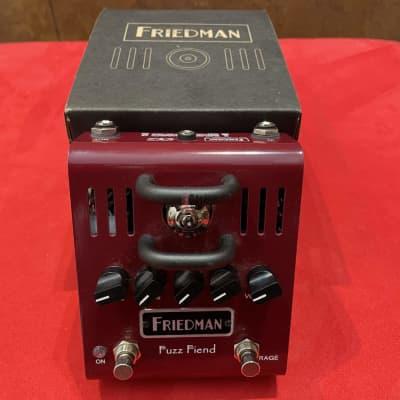Friedman Fuzz Fiend – 12AX7 Tube Powered Fuzz Pedal for sale