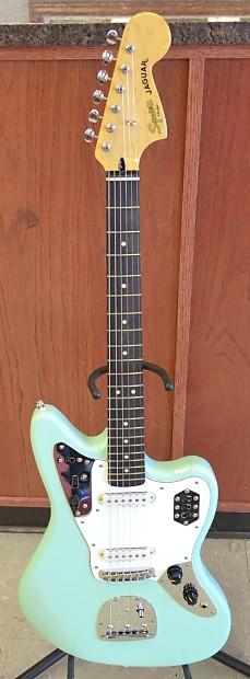 fender squier jaguar 6 string electric guitar nice made in reverb. Black Bedroom Furniture Sets. Home Design Ideas