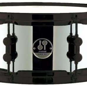 "Sonor 5x10"" Black Mamba Steel Snare Drum"