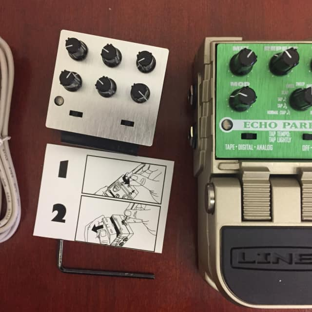 Line 6 Echo Park with Developer Tone Core DSP Kit Dock and Module image