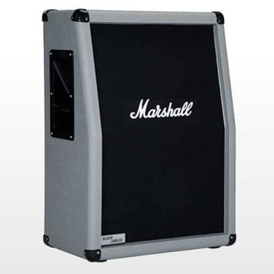Marshall 2536A Vertical Silver Jubilee 140W 2 x 12 Speaker Extension Cabinet