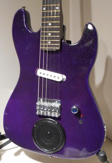 purple beginner childs size electric guitar amplifier reverb. Black Bedroom Furniture Sets. Home Design Ideas