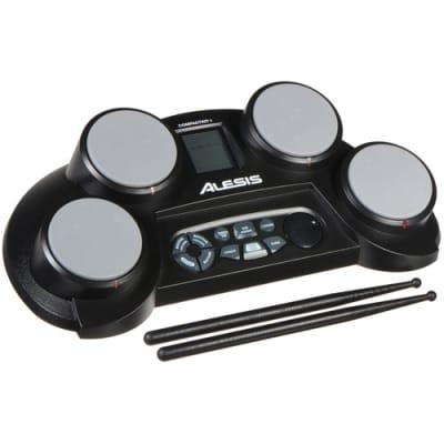 Alesis - COMPACTKIT 4 - 4-Pad Portable Tabletop Drum Kit