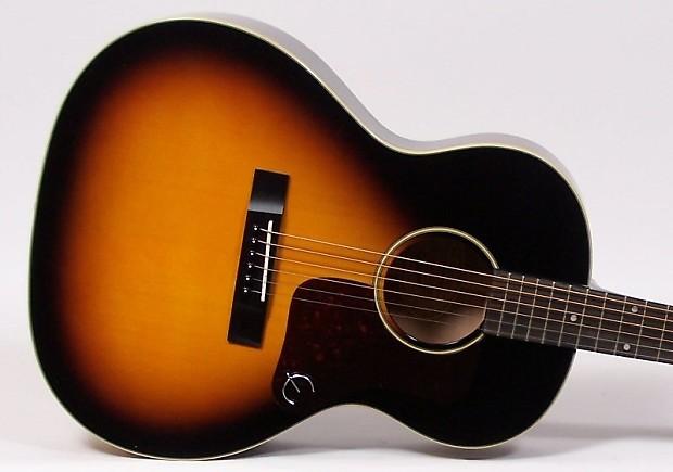 epiphone el 00 pro parlor acoustic electric guitar vintage reverb. Black Bedroom Furniture Sets. Home Design Ideas