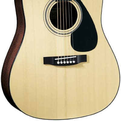 Yamaha F1-HC Solid Top Acoustic Guitar with Hard Case - Natural