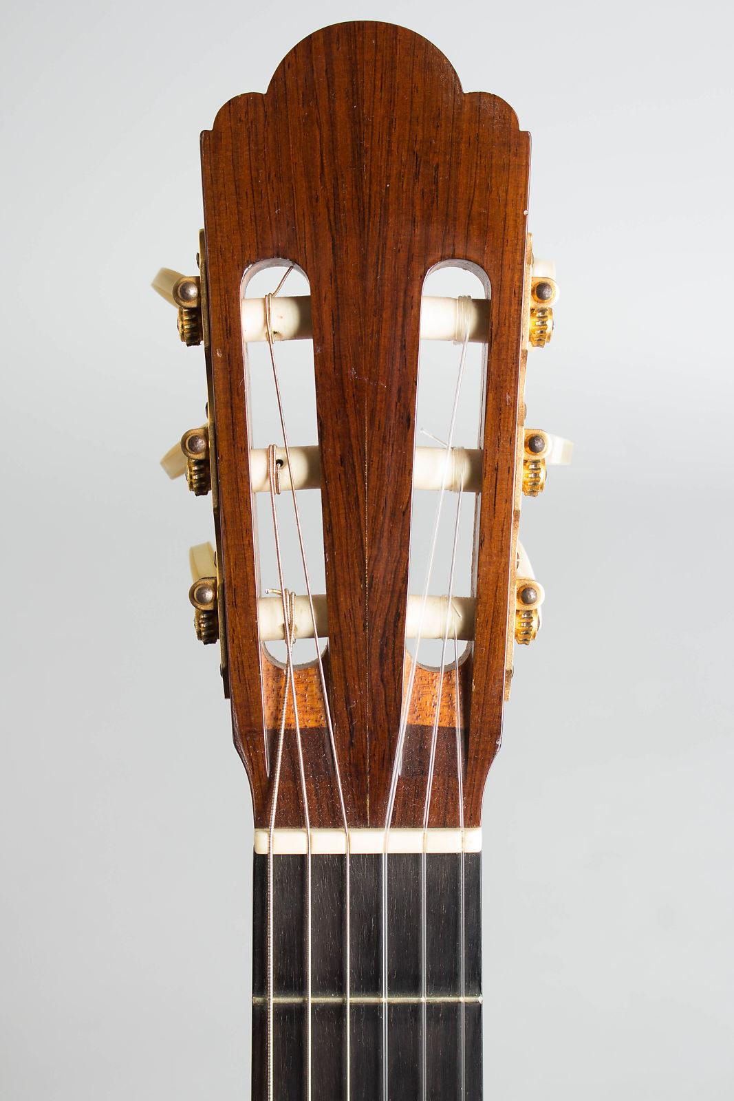 Manuel Velazquez  Classical Guitar (1981), original black hard shell case.